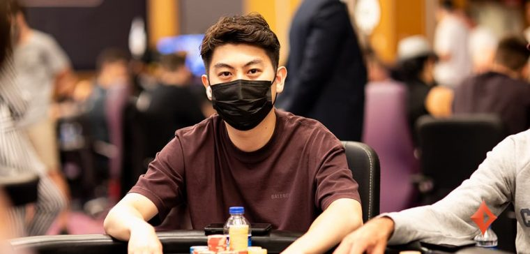Only 12 players remain in the $2,200 partypoker LIVE MILLIONS North Cyprus Warm-Up event, and Dutch player Jim Sue Pan is the overall chip leader.